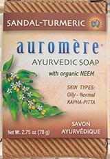 Sandalwood-Turmeric Soap